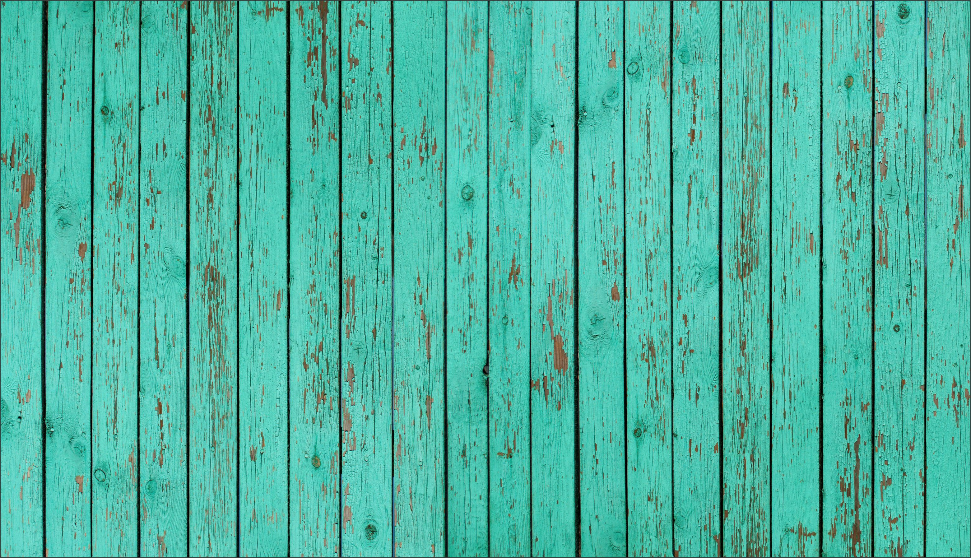 Wood floor turquoise the crate apple for Bright wallpaper for walls